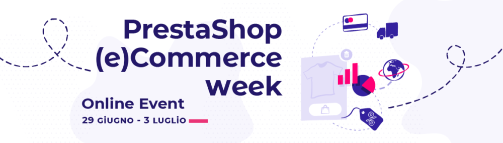 Come partecipare al Prestashop (e)commerce week