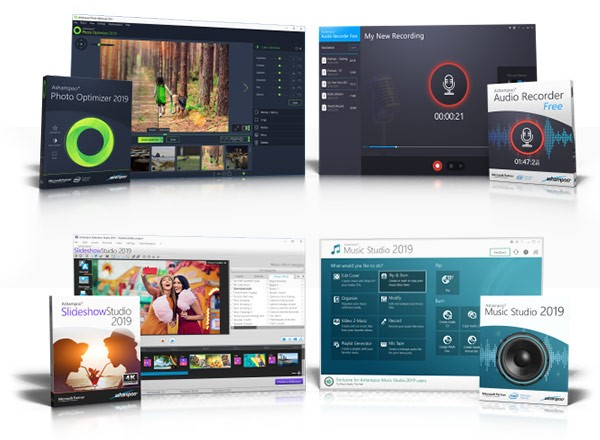4 Top Software Gratis da Ashampoo per i lettori di Mooseek.com