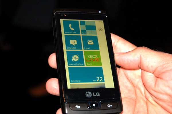 Prototipo Windows Phone 7
