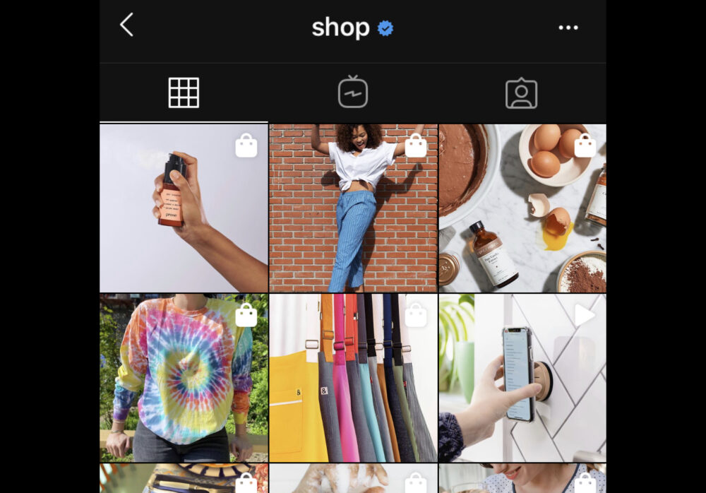 A Celebration of Shopping of Instagram