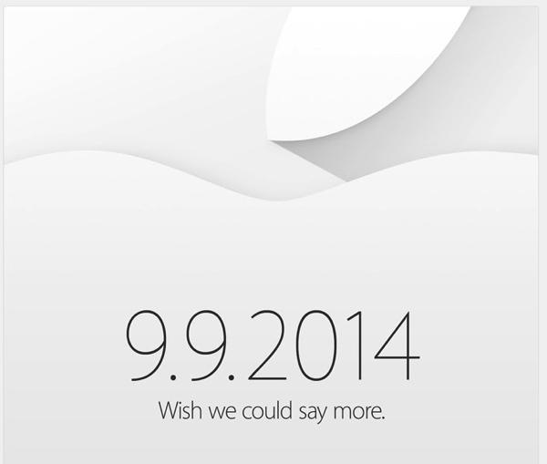 Apple annuncia ufficialmente l'evento di presentazione iPhone 6 per il 9 Settembre