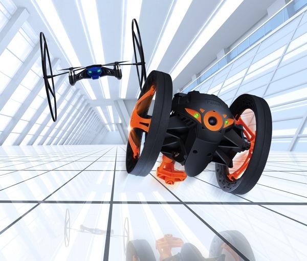 CES2014 Immagini Parrot JumpingSumo Minidrone