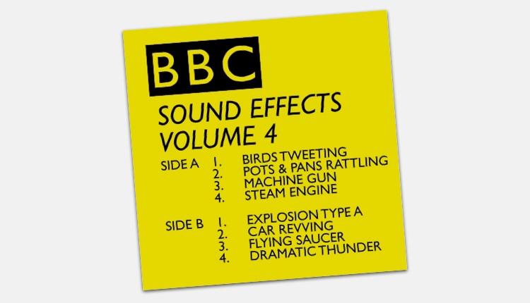 Incredibile raccolta di 16000 effetti sonori gratis dall'archivio della BBC