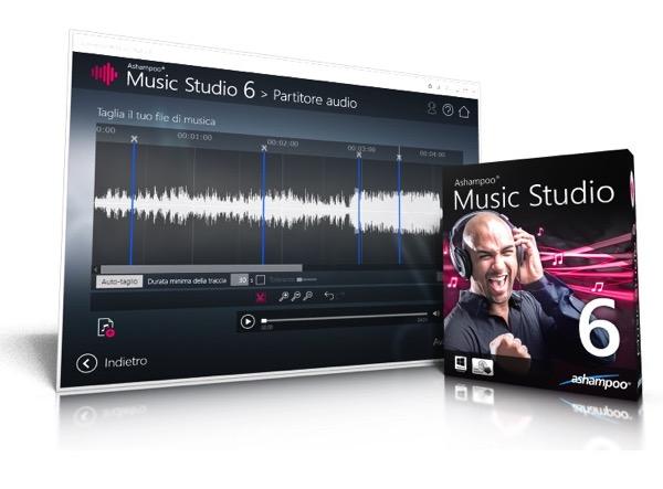 Ecco Ashampoo Music Studio 6 il programma con tutto quello che hai bisogno per la tua musica!