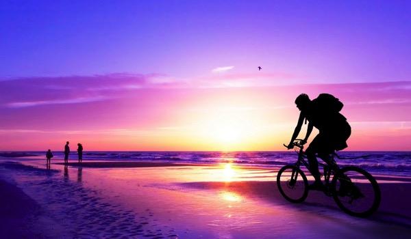 Ciclismo Tramonto