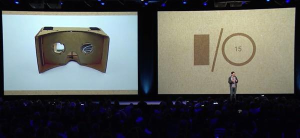 Google Cardboard IO15