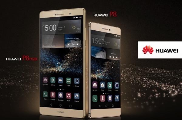 Huawei P8 e P8max