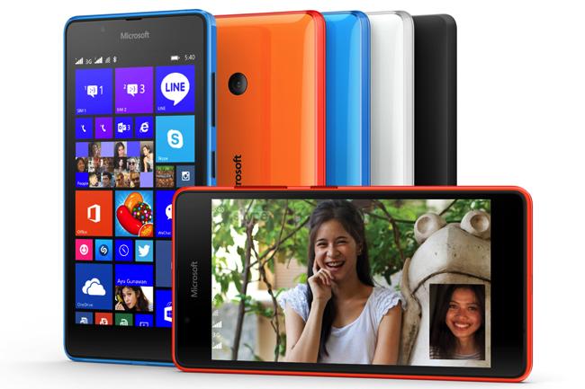 Microsoft presenta Lumia 540 dual sim. Ecco scheda tecnica completa, immagini e video
