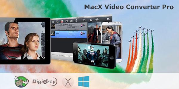 MacX Video Converter Pro in offerta gratuita ai lettori di Mooseek.com per la festa della Repubblica