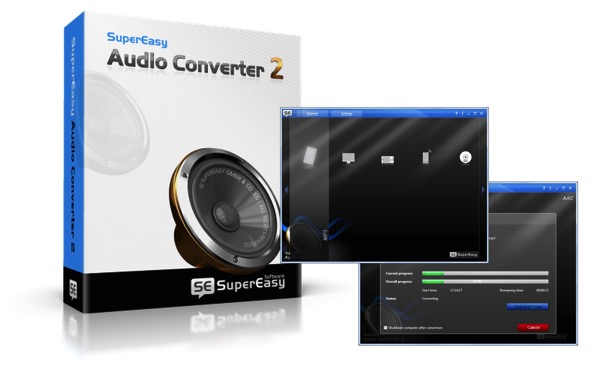 SuperEasy Audio Converter 2 disponibile in offerta limitata e gratuita a tutti i lettori di Mooseek.com
