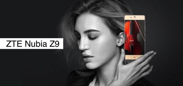 ZTE Nubia Z9 lo smartphone con il display quasi senza bordi. Ecco scheda tecnica completa ed immagini