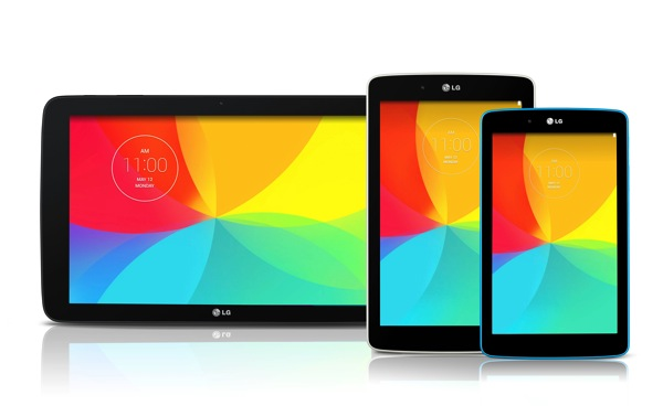 LG G Pad series 2