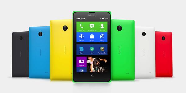 Nokia X colori