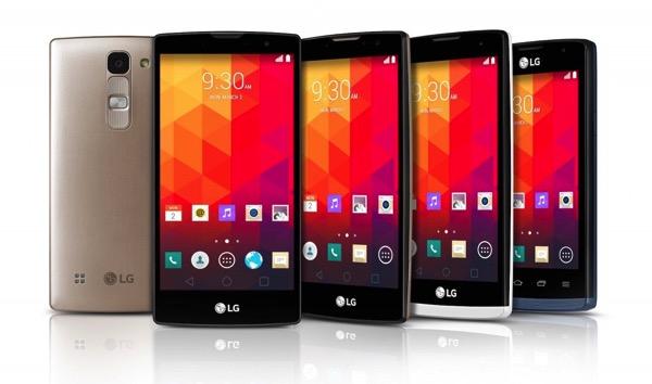 LG presenta 4 nuovi smartphone Android con schermo leggermente curvo. Ecco immagini e scheda tecnica