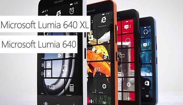 Microsoft Lumia 640 e Lumia 640 XL presentati al MWC 2015. Ecco scheda tecnica completa, immagini e video