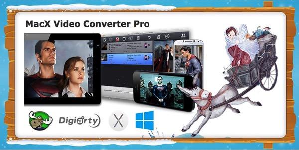 MacX Video Converter Pro in offerta gratuita ai lettori di Mooseek.com per la festa di Santa Lucia