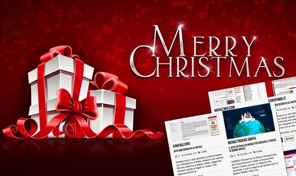 20 e oltre portali e siti web dedicati al Natale ed alle festivit� natalizi