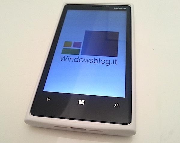 Puro clear cover lumia 920 top