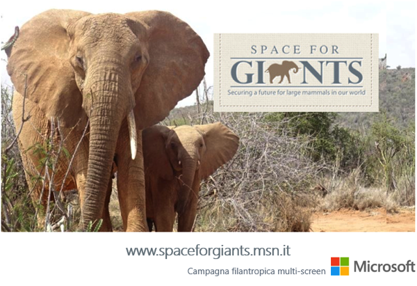 Global Creative Solutions e MSN insieme per il lancio della campagna filantropica Space for Giants
