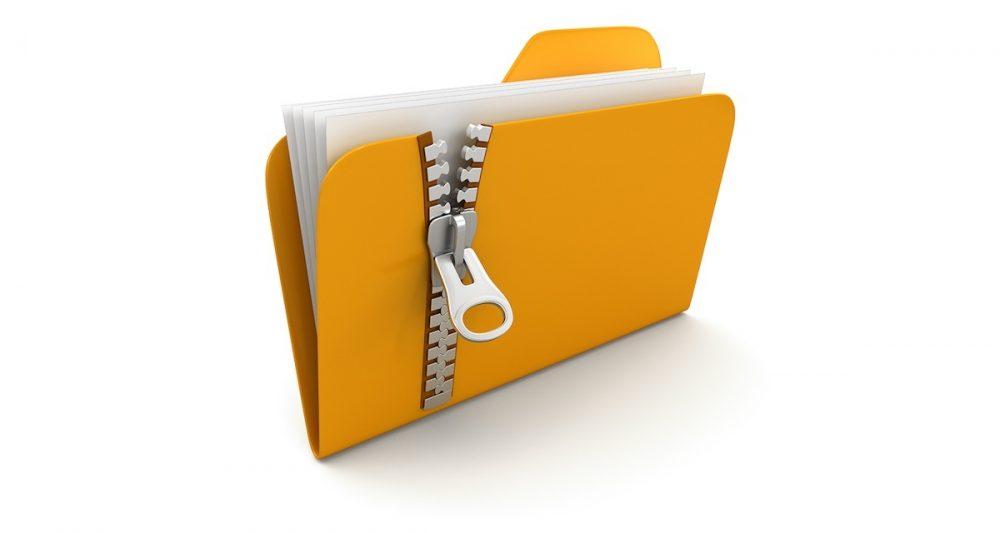 Zip-files-folder