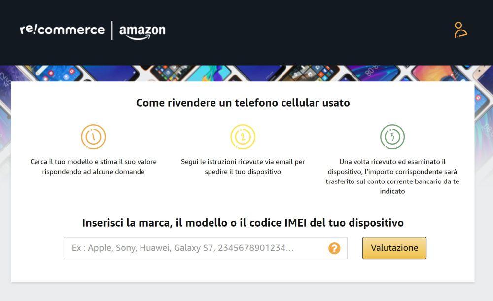 Amazon Recommerce il servizio che ritira e compra il tuo cellulare usato