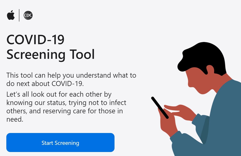 Dopo Google anche Apple lancia un sito (e una App) con le info ed i suggerimenti sul Coronavirus