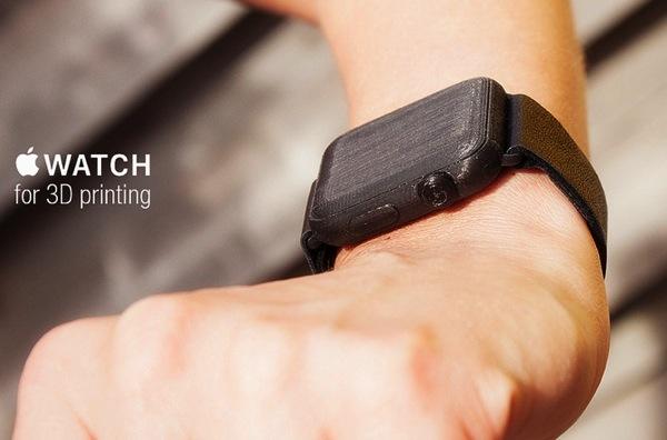 Volete un Apple Watch oggi? Perch� non stamparlo in 3D