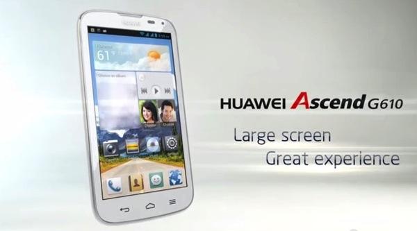 Ascend G610