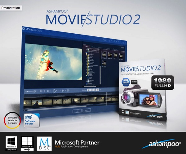 Contest: In regalo 10 copie gratuite della suite per l'editing video Ashampoo Movie Studio 2 ai nostri lettori di Mooseek.com