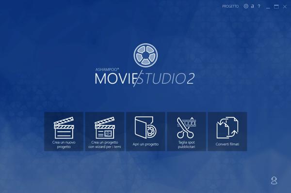 Ashampoo Movie Studio 2 main