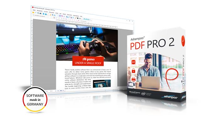 2 volte Ashampoo PDF Pro: Ecco la nuova versione del programma tutto fare per PDF