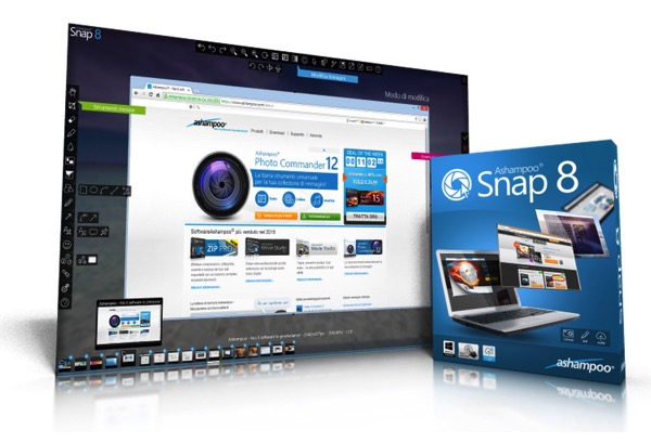 Contest: In regalo 10 copie gratuite della stupenda suite Ashampoo Snap 8 ai nostri lettori di Mooseek.com