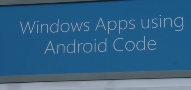 Build 2015 Android Code