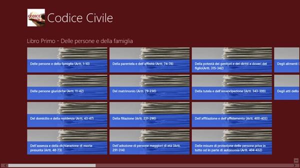 Codice Civile Pro per Windows 8.1