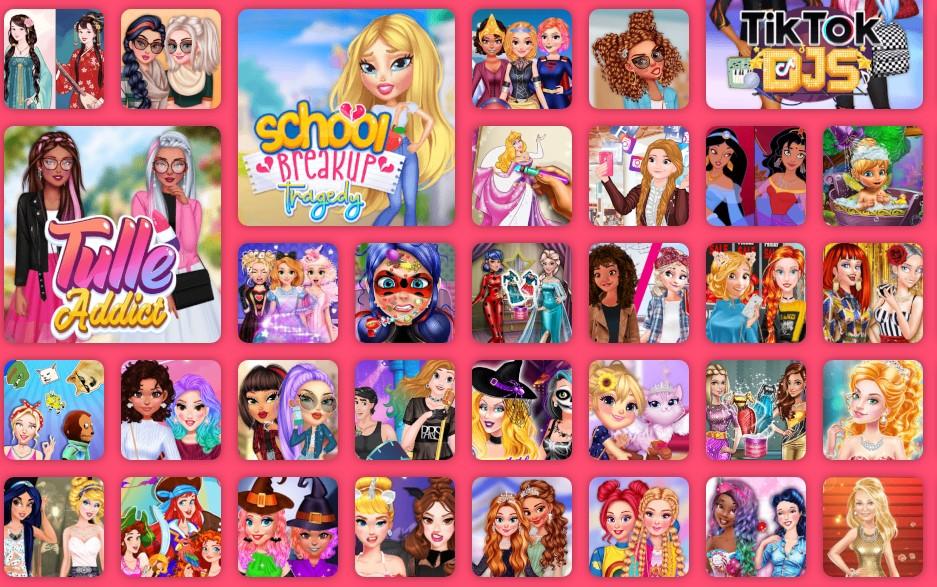 Ecco i Siti Web con tanti giochi per Ragazze da giocare online gratis