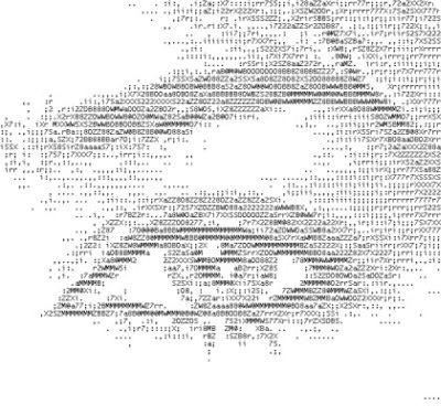 4 e Oltre Programmi per fare Arte in ASCII