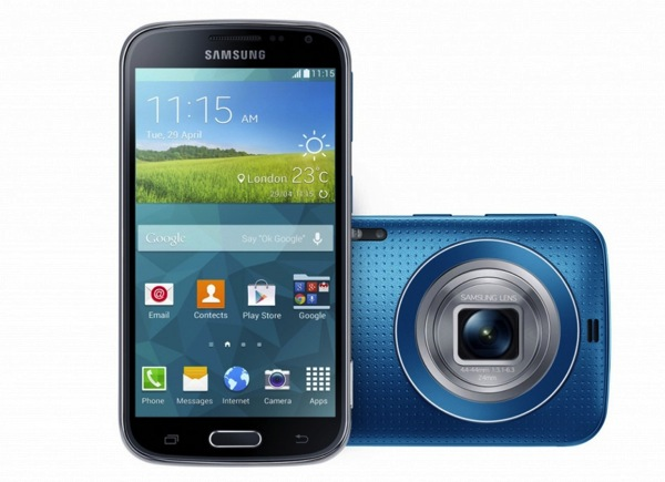 Galaxy K Zoom Blue