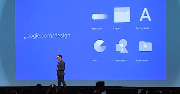 Google io2014 android design