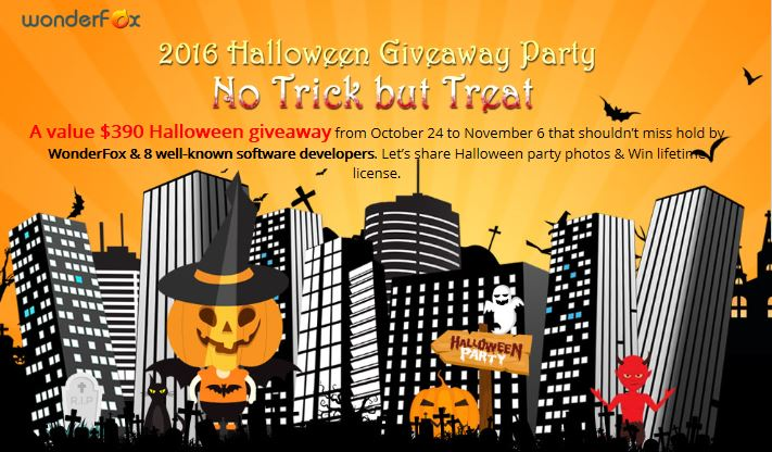 8 Software gratuiti per un Halloween 2016 Party da paura