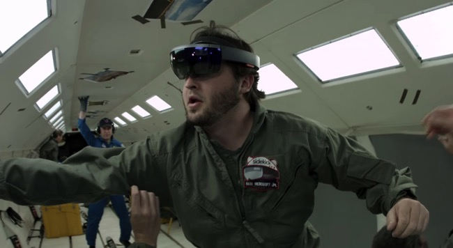 Hololens ISS