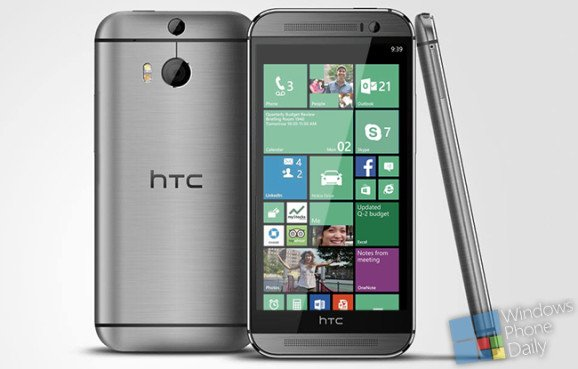 Sempre pi� vicino HTC One M8 con Windows Phone 8.1