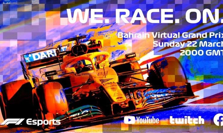 Se la F1 non parte, c'è la Virtual Grand Prix Series.