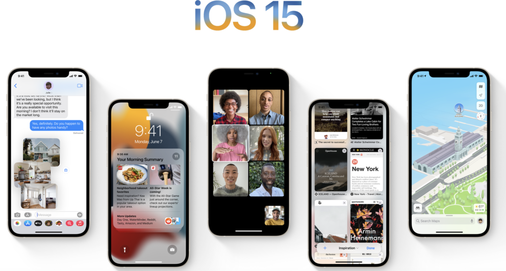 Download degli sfondi di iOS 15, iPadOS 15 e macOS Monterey appena presentati al WWDC21