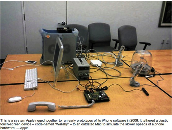 iPhone Prototype Room