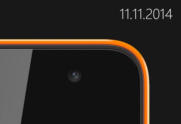 Il primo Microsoft Lumia in arrivo il prossimo 11 Novembre