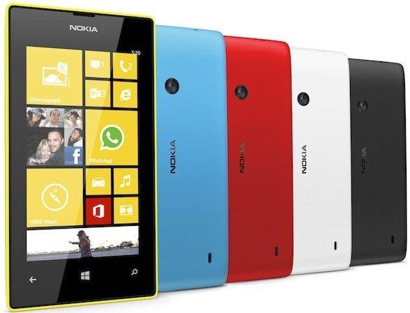 Lumia520 colors