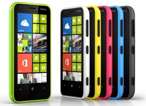 Lumia620 colors