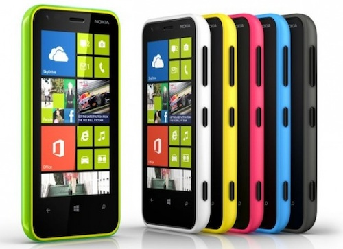 Lumia620 colors