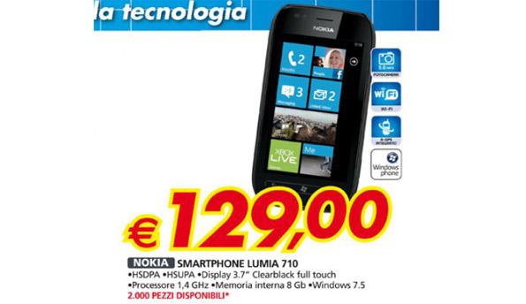Lumia 710 129 euro