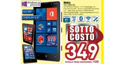 Lumia920 sottocosto euronics